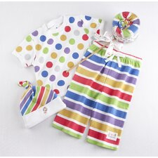 "<strong>Baby Aspen</strong> ""Lollipop Loungewear"" Three Piece Gift Set"