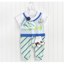 <strong>Baby Aspen</strong> Big Dreamzzz 3 Piece Layette Set