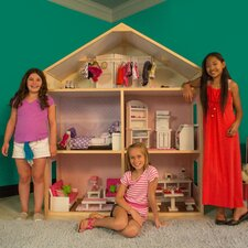 Sweet Bungalow Style Dollhouse