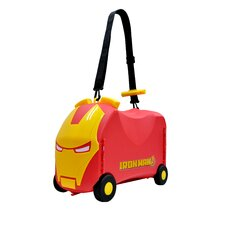 Marvel Ironman Ride-On/Carry-On Toy Box