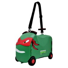 NICK - Teenage Mutant Ninja Turtles Raphael Ride-On/Carry-On Toy Box