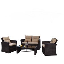 Roatan 4 Piece Deep Seating Group