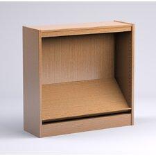 "Stately Series Oak Single Face Periodical Starter 36"" Shelf Bookcase"