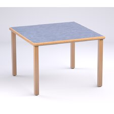 Providence Series Square Reading Table with Solid Oak Leg