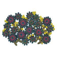 Florigraphie Passiflora Straw Table Mat