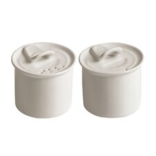 Estetico Quotidiano Salt and Pepper Cellar Set