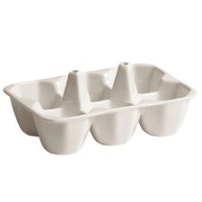 Estetico Quotidiano Porcelain Egg Holder (Set of 4)