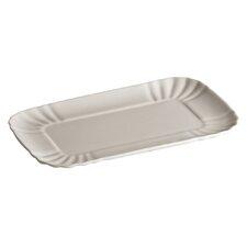 """Estetico Quotidiano 7.9"""" Rectangular Platter (Set of 4)"""