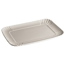 """Estetico Quotidiano 13.3"""" Rectangular Platter (Set of 4)"""