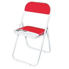Pantone® 186 Metal Folding Chair