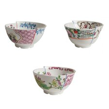 Hybrid 3 Piece Porcelain Fruit Bowl Set