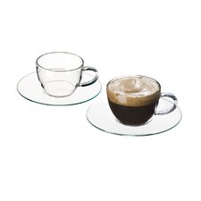 Piccolo Espresso Cup with Saucer (Set of 4)