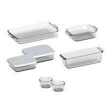 9-Piece Borosilicate Glass Casserole Set