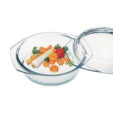 Borosilicate Glass Round Casserole