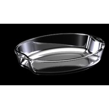 Exclusive 2.5-qt. Borosilicate Glass Oval Casserole