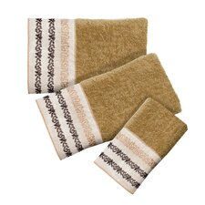 Confetti 3 Piece Bath Towel Set