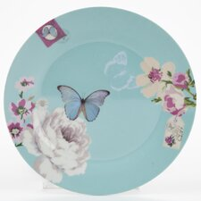 With Love 19cm Porcelain Cake Plate in Butterflies and Flowers