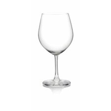 Pure & Simple - Serve Burgundy Glass (Set of 4)