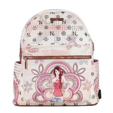 "20"" Marina Print Backpack"