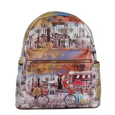 "20"" Bicycle Print Backpack"