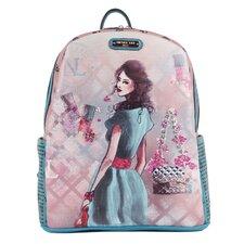 Daisy Print Backpack