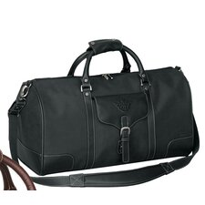 """Vintage Voyager 21"""" Leather Travel Duffel"""