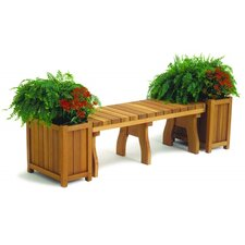 Redwood Rectangular Planters (Set of 2)