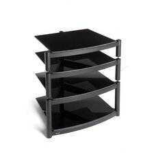 Equinox Hi Fi Celebration LE Rack with Base in Gloss Black