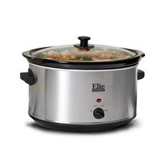 Platinum 8.5-Quart Stainless Steel Slow Cooker