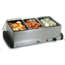 Gourmet 4.5-qt. Stainless Steel Electric Buffet Server