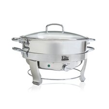 Platinum 5-qt. Stainless Steel Electric Chafing Dish