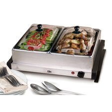 Gourmet 5-qt. Stainless Steel Electric Buffet Server