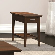 Currents Collection Chairside Table With Drawer