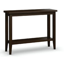 Bowery Sofa Table with Shelf