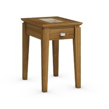 Galleon Chairside Table with Power Station