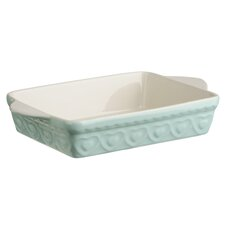 2L Stoneware Baking Dish in Pastel Green