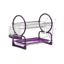2 Tier Dish Drainer with Tray II