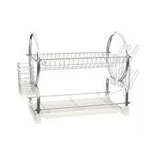 2 Tier Dish Drainer with Tray I