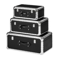 Harley 3 Piece Storage Case Set