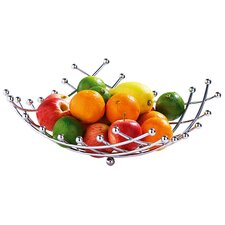 5mm Fruit Basket with Lattice and Ball Det in Chrome