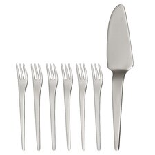 7 Piece Curve Cake Serving Set