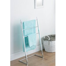 50cm 3 Arm Towel Stand in Chrome