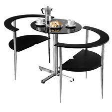 Love Round Dining Set (Set of 2)