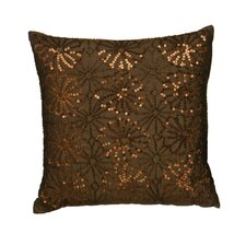 <strong>Premier Housewares</strong> Flower Sequin Cushion