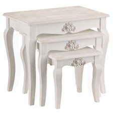 Chic 3 Piece Nest of Tables