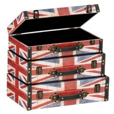 Britannia Storage Cases 3 Piece Set