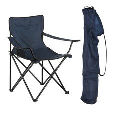 Folding Camping Chair with Drawstring Carry Bag