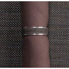 Mini Basketweave Narrow Napkin Ring