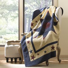 Amarillo Star Cotton Throw