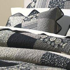Paris Patch Decorative Pillow